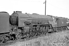 03/10/1964 - York (50A) MPD. (53A Models) Tags: britishrailways peppercorn lner a1 462 60150 willbrook steam withdrawn york 50a mpd train railway locomotive railroad