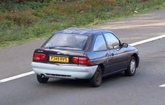 P349 RVS (Nivek.Old.Gold) Tags: 1997 ford escort 16v encore auto 3door 1597cc