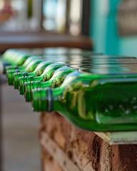 Por las calles de Punta del Este - Uruguay (Irene Carbonell) Tags: botellas street verdes green vidrio calles uruguay 50mm nikond7000