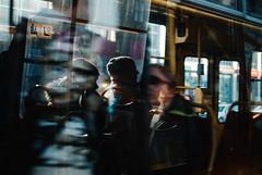 Monday Morning (ewitsoe) Tags: 35mm cityscape d80 nikon street warsw warszawa winter erikwitsoe erikwitsoecom poland urban streetscene reflection window tram ride commute commuters people obscure lady woman reflecting daylight lightandshadow light shadow nikond80