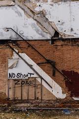 No Shoot Zon. Baltimore, Md. (Feb. 16, 2019) (Thomas Cluderay) Tags: baltimore baltimoremaryland maryland city photography saturday canon canon6d noguns abandoned graffiti