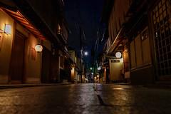 DSC_0577 (ponkiti3) Tags: 京都 夜景 宮川町 風景