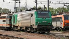 BB 27067, Villeneuve Saint Georges - 29/05/2010 (Thierry Martel) Tags: bb27000 villeneuvesaintgeorges locomotiveélectrique sncf