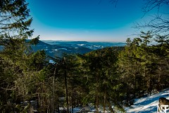Weite im Schwarzwald (t.neukirchner) Tags: nstf schwarzwald sonne schnee blauerhimmel schneeschuhe mummelsee hornisgrinde nshoottfotografie
