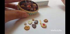 Rare Re-ment Elegant Sweets (mellsdolls) Tags: blythe dollhouse miniature blythedolldress dolldress handmadedolldress sallyrice rement elegantsweets