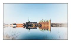 Frederiksborg castle (Jean-Louis DUMAS) Tags: reflection reflets lake lac eau arbre nature landscape paysage castle château voyage travel trip