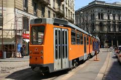 Milano 4992 (pretsend (jpretel)) Tags: milano atm tranvia tramway jumbotram 4900