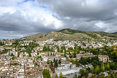GRANADA  CENTRO  El Albaicín desde la Alcazaba, Alhambra (Xacobeo4) Tags: granadacentroelalbaicíndesdelaalcazaba alhambra desde la alcazaba el albaicín