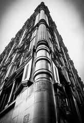 The Potter Building, Downtown NYC (broadswordcallingdannyboy) Tags: red mono bw city manhattan nyc ny newyork eos7d leonreillyphotography leonreilly copyright donotcopy mood atmosphere newyorkcity usa eastcoast americafuckyeah america bwcity light newyorkminute newyorkstateofmind newyorkmono nycinbw