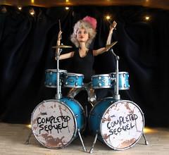IMG_5229 (HaleysRepaints) Tags: barbie barbies drummer customdolls custombarbies custom dolls dollphotography barbiedolls