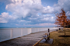 Evening Clouds (Neil Cornwall) Tags: 2019 canada lakestclair lakewoodpark march ontario tecumseh clouds winter lake ice evening