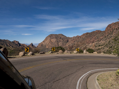 Descending into the Chisos Basin