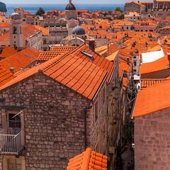 Dubrovnik (sklachkov) Tags: dubrovnik croatia roofs architecture buildings red medirranean