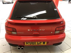 IMG_0323 (deeelux) Tags: red subaru impreza wagon 2000 turbo uk spec 1997 r981gfw