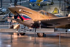 Curtiss P-40E Warhawk (Robert Boyle Photography) Tags: airforce dayton museum plane aircraft military airplanes travel transportation history flight national us air force