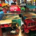 3 Model T battery tin cars