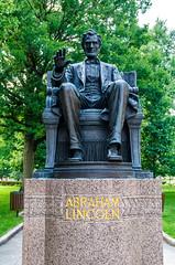 Abe Lincoln Statue (Bracus Triticum) Tags: abe lincoln statue indianapolis インディアナポリス indiana インディアナ州 unitedstates usa アメリカ合衆国 アメリカ 8月 八月 葉月 hachigatsu hazuki leafmonth 2018 平成30年 summer august