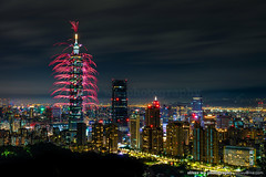 Taipei Night Scene with New Year Firework Composite 台北101跨年煙火 (olvwu | 莫方) Tags: jungpang jungpangwu newyear newyeareve oliverjpwu oliverwu taipei taipei101 taipei101skyscraper taipei101tower taiwan celebration cityscape explode firecracker fireworks night olvwu skyline 台北101 台北101大樓 台北101跨年煙火 台灣 新年 新年煙火 煙火 象山 跨年煙火