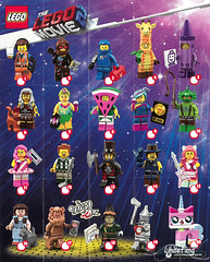 Front view of The LEGO Movie Series 2 promotional poster (WhiteFang (Eurobricks)) Tags: lego collectable minifigures series city town space castle medieval ancient god myth minifig distribution ninja history cmfs sports hobby medical animal pet occupation costume pirates maiden batman licensed dance disco service food hospital child children knights battle farm hero paris sparta historic brick kingdom party birthday fantasy dragon fabuland circus people photo magic wizard harry potter jk rowling movies blockbuster sequels newt beasts animals train characters professor school university rare toy bear
