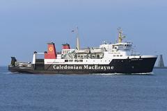 MV Hebridean Isles - Ardrossan - 19-01-19 (MarkP51) Tags: mvhebrideanisles ardrossan scotland caledonianmacbrayne ferry ship boat vessel nikonafp70300f4556fx sunshine sunny maritimephotography nikon d500