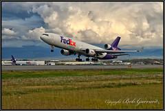 N606FE Federal Express FedEx McDonnell Douglas MD-11F (Bob Garrard) Tags: n606fe federal express fedex mcdonnell douglas md11f anc panc md11