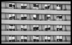 Windows [1567] (my.travels) Tags: window blackwhite blackandwhite monochrome samsung nx2000 building architecture antalya turkey hotel tr