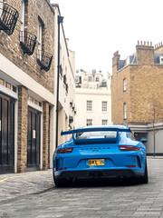 991.2 GT3 (Mattia Manzini Photography) Tags: porsche 911 991 9912 gt3 supercar supercars cars car carspotting nikon d750 blue spoiler automotive automobili auto automobile uk england london