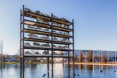 München_Gran Paradiso_Stephan Huber_SAM_2885 (milanpaul) Tags: 2019 architektur bayern deutschland februar germany kunst messestadtwest münchen wasser winter