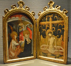 Diptych-The Annunciation and the Man of Sorrows, Art Gallery of Ontario, Toronto, ON (Snuffy) Tags: diptychtheannunciationandthemanofsorrows artgalleryofontario ago toronto ontario canada