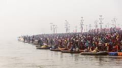 Sangam, Prayagraj Ardh Kumbh Mela, 2019 (ayashok photography) Tags: ayp9389 kumbhmela prayag kumbh mela ardhkumbhmela triveni sangam allahabad uttarpradesh chennaiweekendclickers cwc cwc701