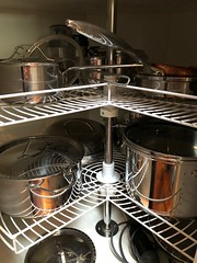 Rattle Those Pots and Pans! (ruthlesscrab) Tags: pot pan cookware cooking stainlesssteel paderno werehere wah hereios