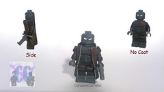 Custom LEGO DC: Hush (Caruana Customs) Tags: batman hush dc comics custom lego minifigure painted tommy arkham knight city robin nightwing red hood