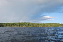 DSC_0387 (MSchmitze87) Tags: schweden sweden dalsland kanu canoeing see lake regenbogen rainbow