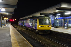 Pioneer Pacer (Callum Nicolson) Tags: pacer northernrail northern 142 dmu blackburn night