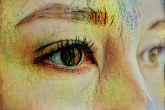 Eyes (Eclectic Jack) Tags: ddg generator dream deep processing processed process post manipulated woman portrait eyes