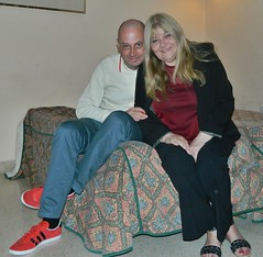 The Two of Us..Malta (HerandMe2019...Please Read Profile) Tags: couple mature older younger granny classy cougar portrait pose people malta travel holiday relationship gilf amateur attractive women woman female male