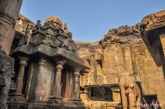 Ellora, Maharashtra, India (Ben Perek Photography) Tags: india ellora maharashtra hindu caves hinduism spectaclar cave buddhism architecture history temple palace carving rock wonder monolith asia unesco