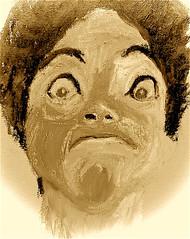 Marga (chartan) Tags: fakeneocrayons canvasboard sketch portrait jkpp