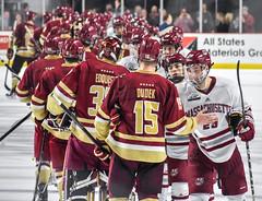 Hockey vs. BC (dailycollegian) Tags: umass hockey university massachusetts amherst sports winter mullins center george mika will katcher boston college team
