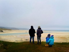 IMG_20190216_104218-01 (www.AlastairHumphreys.com) Tags: beach water sand cornwall estuary sky empty winter people watching men family kids kid child