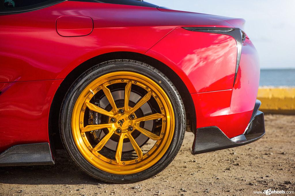 Lexus LC500 - SR7 Polished Gold Bullion