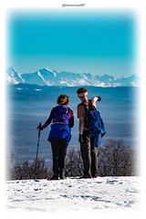 Admirer les Alpes... (jamesreed68) Tags: molkenrain montagne mountain paysage nature france 68 alsace hautrhin neige snow grandest