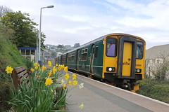 150266 (2) (ANDY'S UK TRANSPORT PAGE) Tags: trains class150 carbisbay