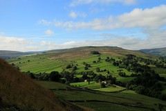 Meanwhile, over on the sunny side of the valley.... (RoystonVasey) Tags: canon eos m 1855mm stm zoom north yorkshire dales ydnp west burton wensleydale waldendale