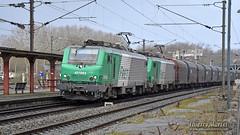 BB 27085 + BB 27084, Longueau - 13/03/2019 (Thierry Martel) Tags: longueau locomotiveélectrique sncf bb27000