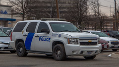 Chevy Tahoe (NoVa Truck & Transport Photos) Tags: chevrolet tahoe chevy department homeland security federal protective service police dhs fpsp marked cruiser law enforcement first responder