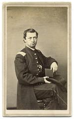 Charley's Legacy (Ron Coddington) Tags: cartedevisite civilwar hoagquick cincinnati ohio 118 infantry carry nation david alcohol alcoholism liquor