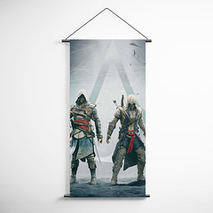 Assassin's Creed 12 Decorative Banner Flag for Gamers (gamewallart) Tags: background banner billboard blank business concept concrete design empty gallery marketing mock mockup poster template up wall vertical canvas white blue hanging clear display media sign commercial publicity board advertising space message wood texture textured material wallpaper abstract grunge pattern nobody panel structure surface textur print row ad interior
