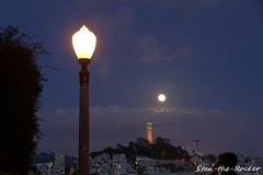 Coit Tower Viewed from Russian Hill - 032019 - 03 (Stan-the-Rocker) Tags: stantherocker sony ilce sanfrancisco coittower telegraphhill northbeach street russianhill sigma18300