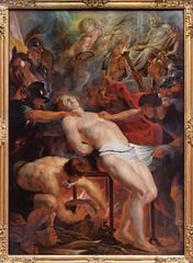 The Martyrdom of St. Lawrence (~1613-14, Peter Paul Rubens) (Whidbey LVR) Tags: olympus epl5 munich münchen museum art painting altepinakothek alte pinakothek martyrium laurentius